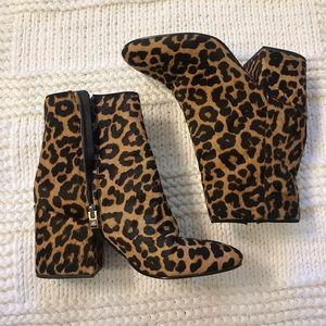 SAM EDELMAN - Leopard Print Booties